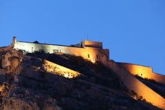 Castillo de Santa Barbara Alicante Royalty Free Stock Image
