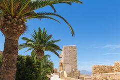 Castillo de Santa Barbara Alicante Spain Zdjęcie Royalty Free