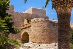 Castillo DE Santa Barbara Alicante Spanje royalty-vrije stock afbeelding