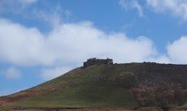 Castillo DE Santa Barbara Lanzarote Spain stock foto
