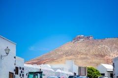 Castillo de Santa Barbara Stock Images