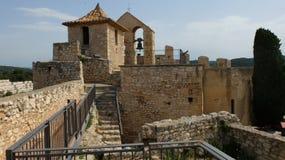 Castillo de Santa Creu de Calafel imágenes de archivo libres de regalías