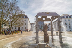 Castillo de Sarrebruck Fotografía de archivo libre de regalías