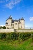 Castillo de Saumur en el Loire Valley fotografía de archivo
