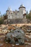 Castillo de Savoia en Gressoney Foto de archivo
