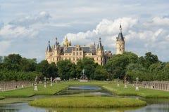 Castillo de Schwerin Fotografía de archivo libre de regalías
