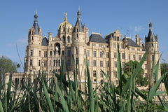Castillo de Schwerin imagenes de archivo