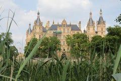 Castillo de Schwerin foto de archivo libre de regalías