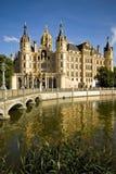 Castillo de Schwerin en Alemania Imágenes de archivo libres de regalías