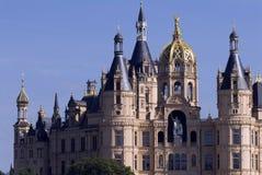 Castillo de Schwerin en Alemania Imagen de archivo