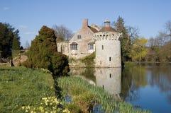 Castillo de Scotney Foto de archivo libre de regalías