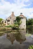 Castillo de Scotney en Inglaterra Imagen de archivo
