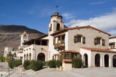 Castillo de Scotty Imagenes de archivo