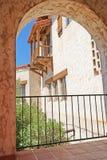 Castillo de Scottys - detalles de la arquitectura Imágenes de archivo libres de regalías
