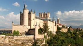 Castillo de Segovia en España almacen de video