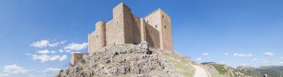 Castillo de Segura de la Sierra, Jaén, España foto de archivo libre de regalías