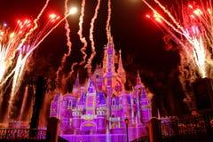 Castillo de Shangai Disney imágenes de archivo libres de regalías