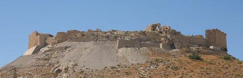 Castillo de Shawbak, Jordania Foto de archivo libre de regalías