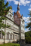 Castillo de Sherborne Oblast de Zakarpatska Imágenes de archivo libres de regalías