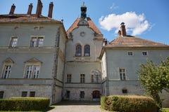 Castillo de Sherborne Oblast de Zakarpatska Fotos de archivo libres de regalías