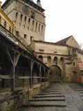 Castillo de Sighisoara Imágenes de archivo libres de regalías