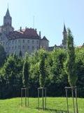 Castillo de Sigmaringen Foto de archivo libre de regalías