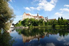 Castillo de Sigmaringen Foto de archivo