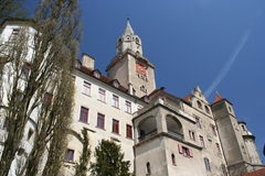 Castillo de Sigmaringen, Alemania Fotografía de archivo