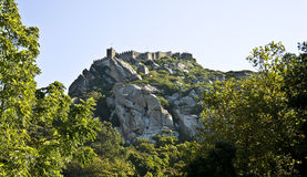 Castillo de Sintra Foto de archivo libre de regalías