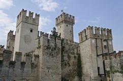Castillo de Sirmione foto de archivo libre de regalías