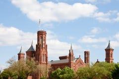 Castillo de Smithsonian Imagen de archivo libre de regalías