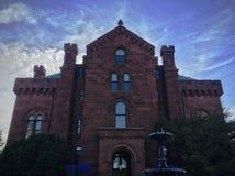 Castillo de Smithsonian en Washington D C Fotos de archivo