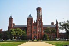Castillo de Smithsonian en Washington DC Foto de archivo libre de regalías