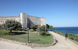 castillo de Sohail在Fuengirola,西班牙 免版税库存图片