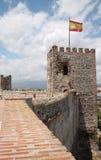 Castillo de Sohail in Fuegirola, Spanien Stockfotos