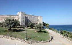 Castillo de Sohail i Fuengirola, Spanien Royaltyfria Bilder