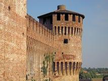 Castillo de Soncino Fotos de archivo