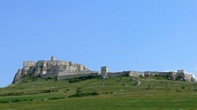 Castillo de Spis imágenes de archivo libres de regalías