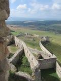 Castillo de Spis Fotografía de archivo libre de regalías