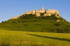 Castillo de Spissky Imagen de archivo