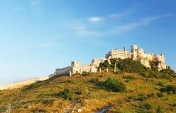 Castillo de Spissky, Eslovaquia Fotografía de archivo libre de regalías