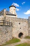 Castillo de Stara Lubovna Fotos de archivo libres de regalías