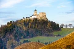 Castillo de Stara Lubovna Foto de archivo