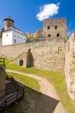 Castillo de Stara Lubovna, Eslovaquia Imagenes de archivo