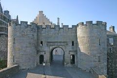 Castillo de Stirling en Escocia foto de archivo libre de regalías
