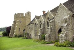 Castillo de Stokesay fotografía de archivo libre de regalías