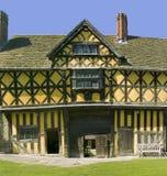 Castillo de Stokesay Imagenes de archivo