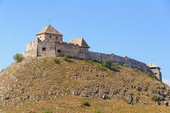 Castillo de Sumeg encima de la colina del castillo Fotos de archivo libres de regalías