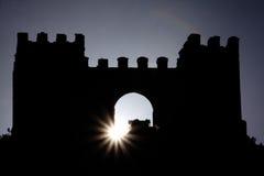Castillo de Sun foto de archivo
