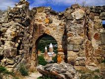Castillo de Surami Foto de archivo